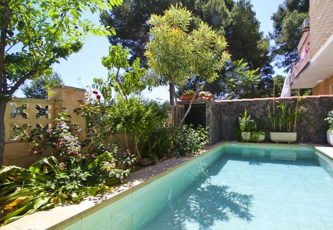 en Salou - LOLO Apartamento con piscina privada, cerca de Port Aventura