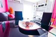 Alquiler Apartamento vacional centro Salou. Salón Diseño FLANDRIA