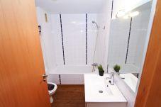 Alquiler apartamento vacacional en Cambrils. Bañera MEXICO