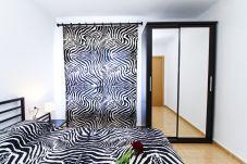 Alquiler alojamiento Cambrils primera linea de mar. Dormitorio TAHITI