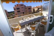 Alquiler piso en La Pineda cerca de la playa. Terraza MARCO