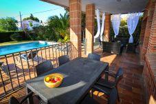 Villa en Vilafortuny - GERANIS Villa con piscina privada y zona de barbacoa