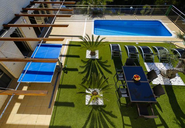 Villa en Tarragona - NINA Villa con piscina privada, playa a 500m