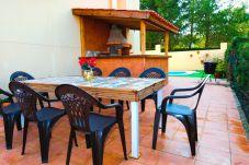Casa en Salou - PASION Adosado con piscina privada y zona de barbacoa