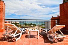 Appartement à La Pineda - TECAVI terrasse avec vue sur la mer, plage à 50m