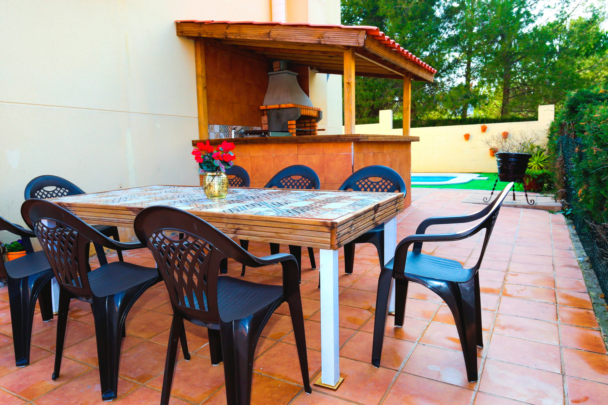 Casa Pasion таунхаус Salou частный бассейн