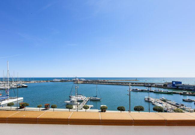 на Cambrils - GATELL 3A Duplex  с панорамным видом на море